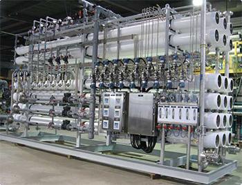 Osmose inverse pour dessalement eau de mer